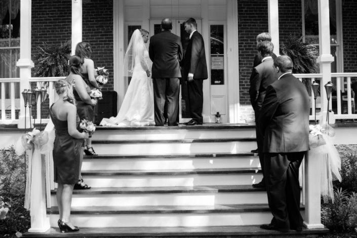 "Say ""I do"" amidst the elegant beauty of the Glen-Willis House"