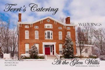 Terri's Catering offers our venue or yours? Photo provided by Paula Goble Photography